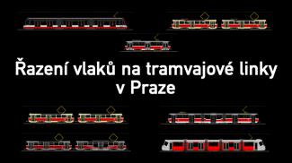 řazení vlaků tramvaje praha