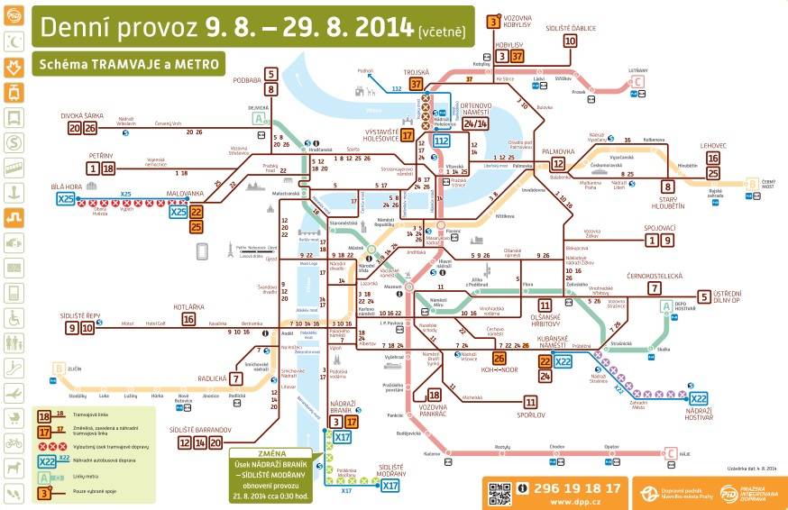 Výlukový stav (tram+metro)