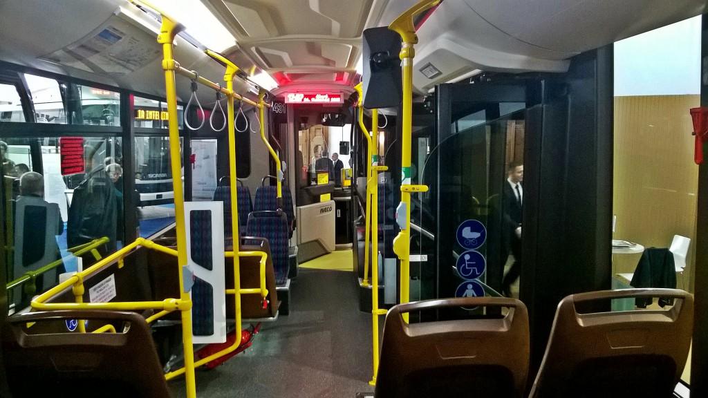 Interiér Iveco Urbanway