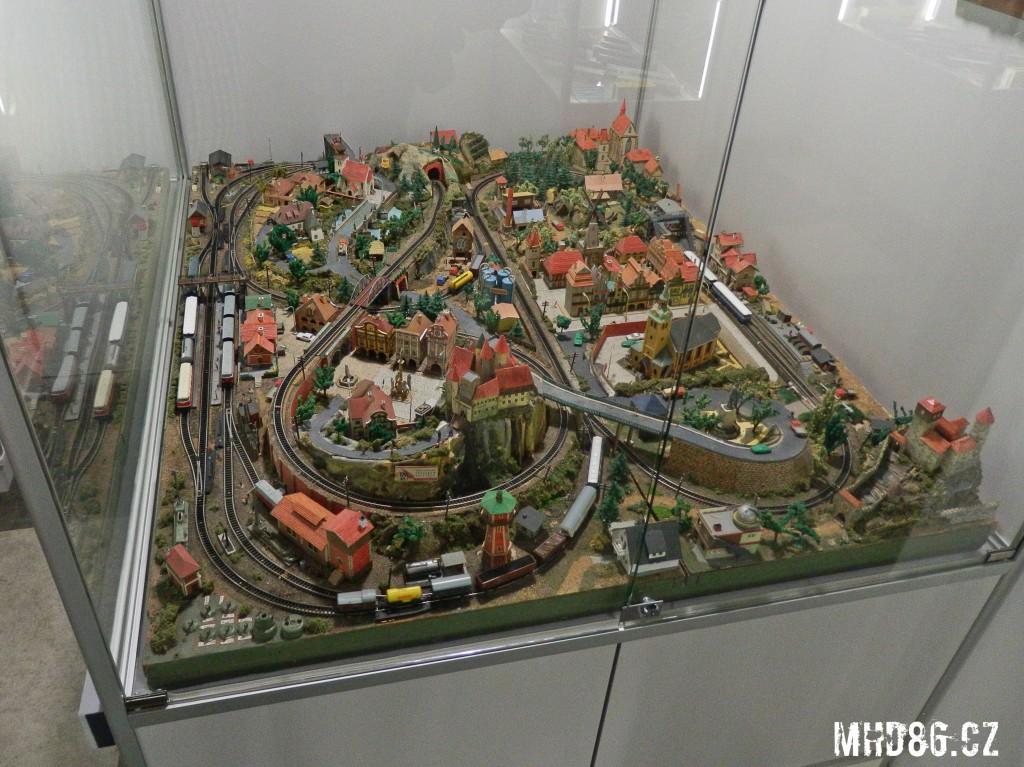Kolejiště ve velikosti N ze 70. let