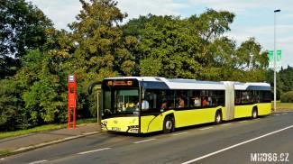 Solaris Urbino 18 IV na pražské lince 119 (1. 9. 2016)