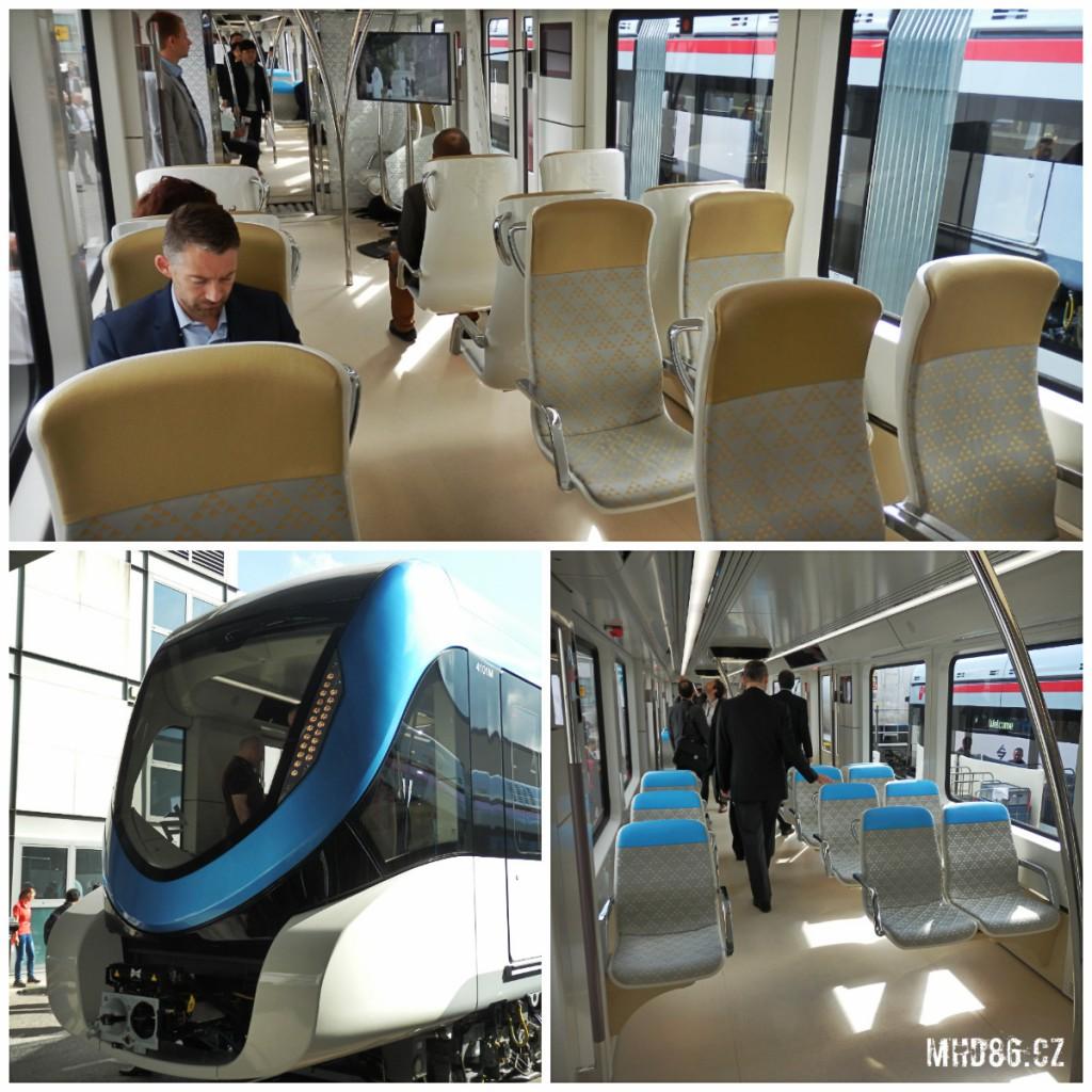 Metro Siemens Inspiro pro saúdskoarabský Riyadh