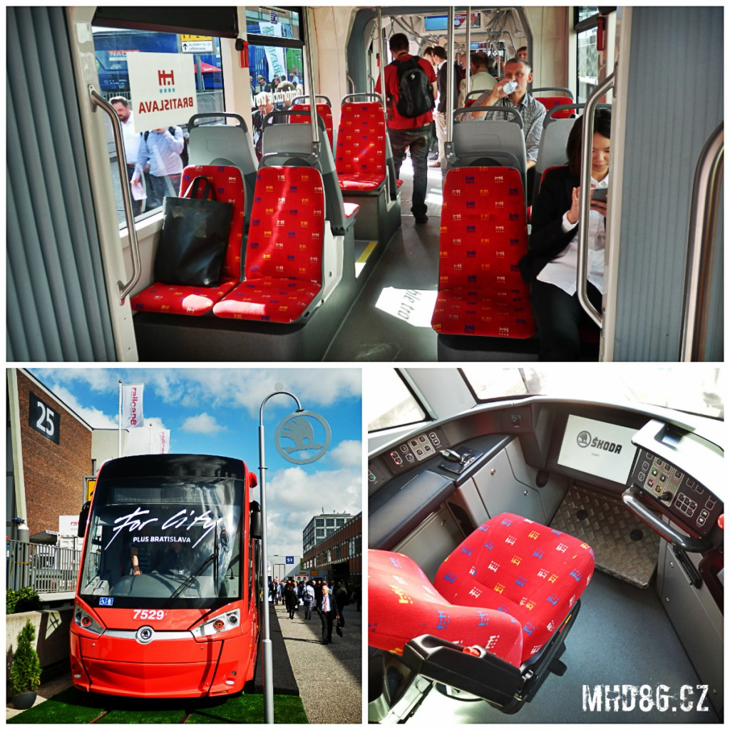 Tramvaj Škoda ForCity Plus 30T pro slovenskou Bratislavu