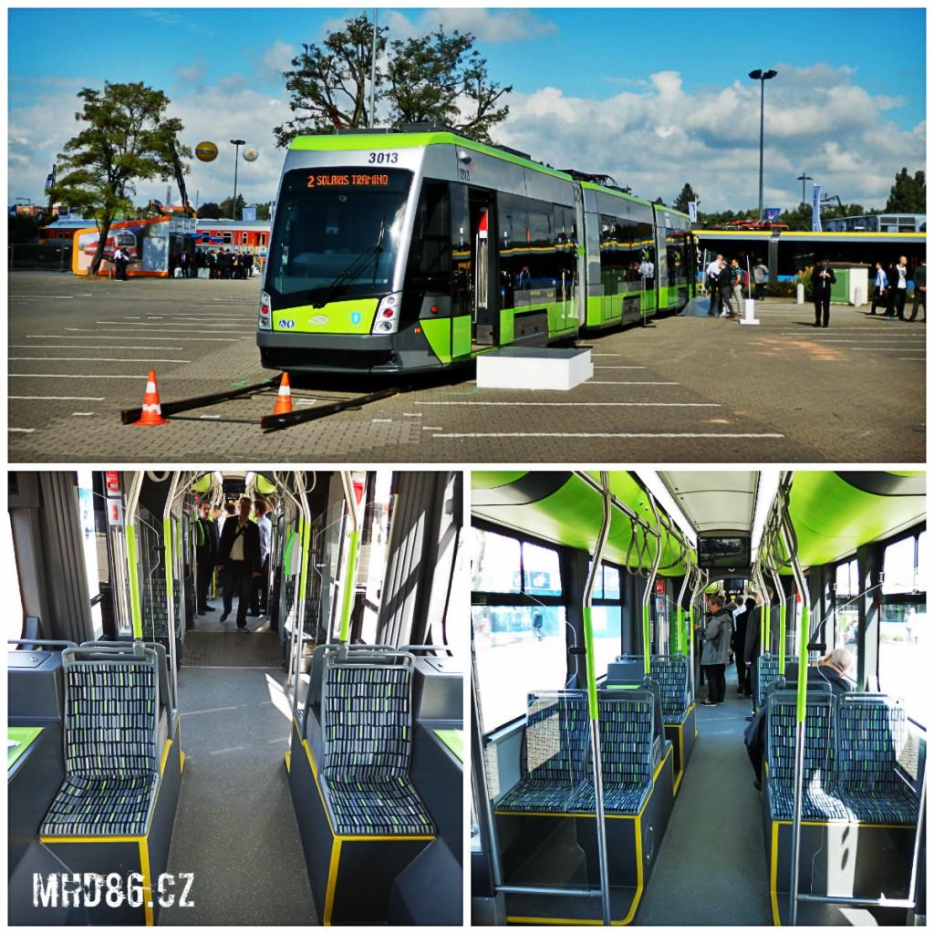 Tramvaj Solaris Tramino pro polský Olsztyn