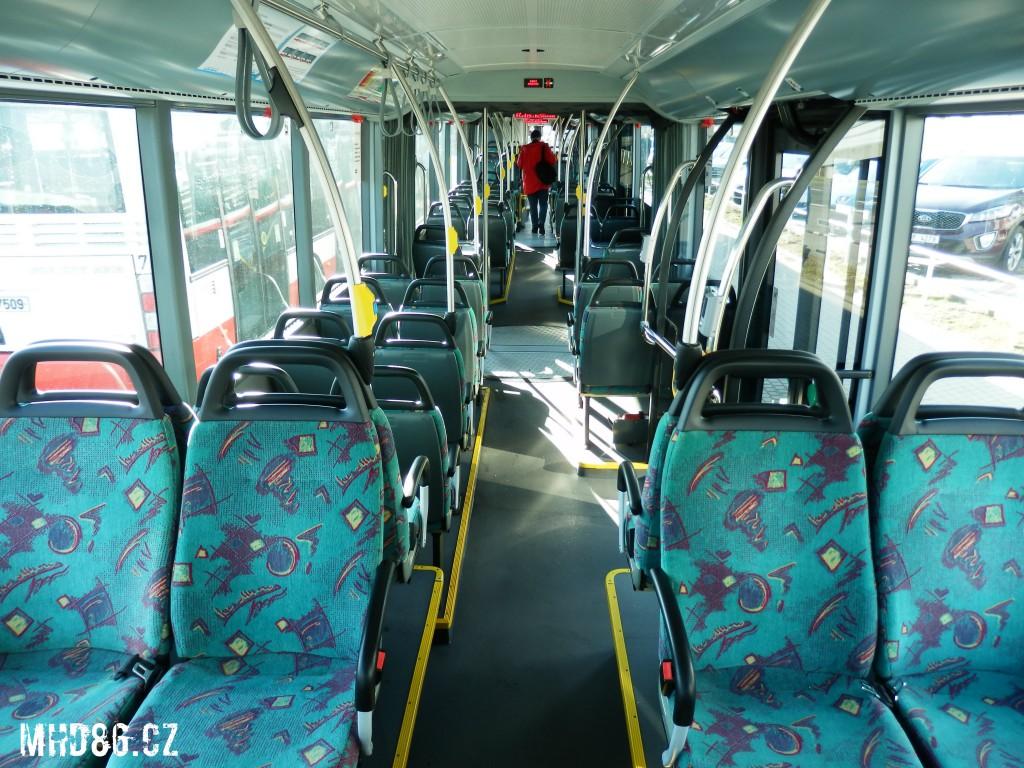 Pohled z posledních sedaček